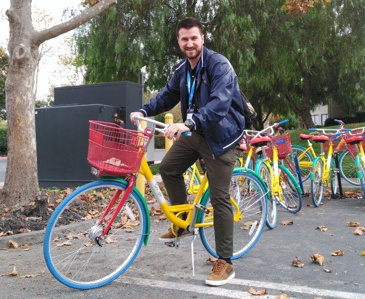 Carlos David Lopez Google Bici - Sobre mí