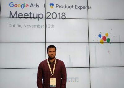 Carlos David Lopez Google Dublin 3