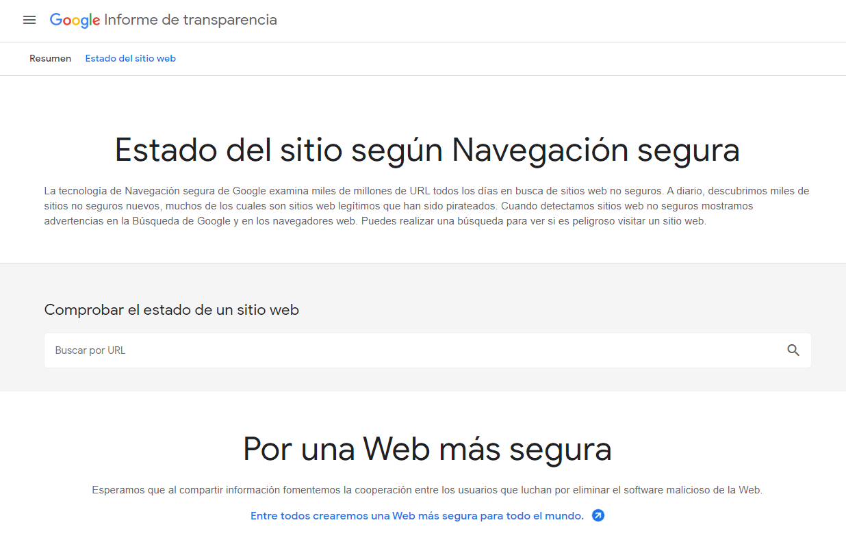 Transparency Report Suspension por malware Google Ads