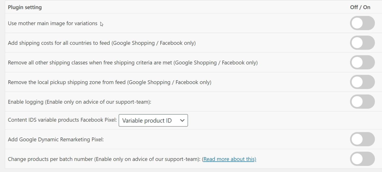Configuración básica módulo WooCommerce Google Shopping
