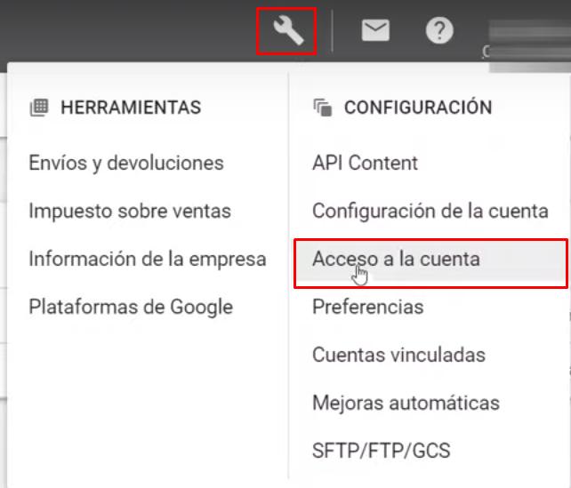 Enlazar Google Ads con Google Merchant Center
