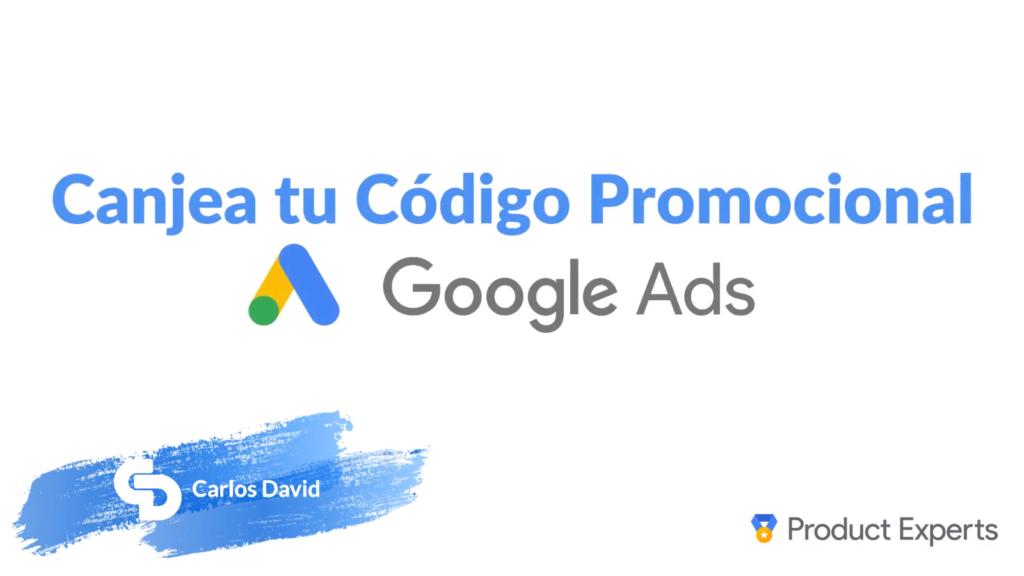 Código promocional Google Ads