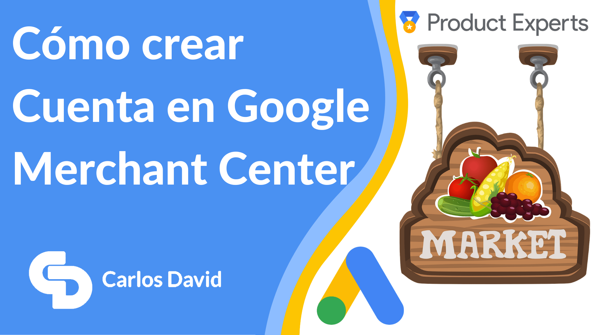 Crear cuenta Google Merchant Center