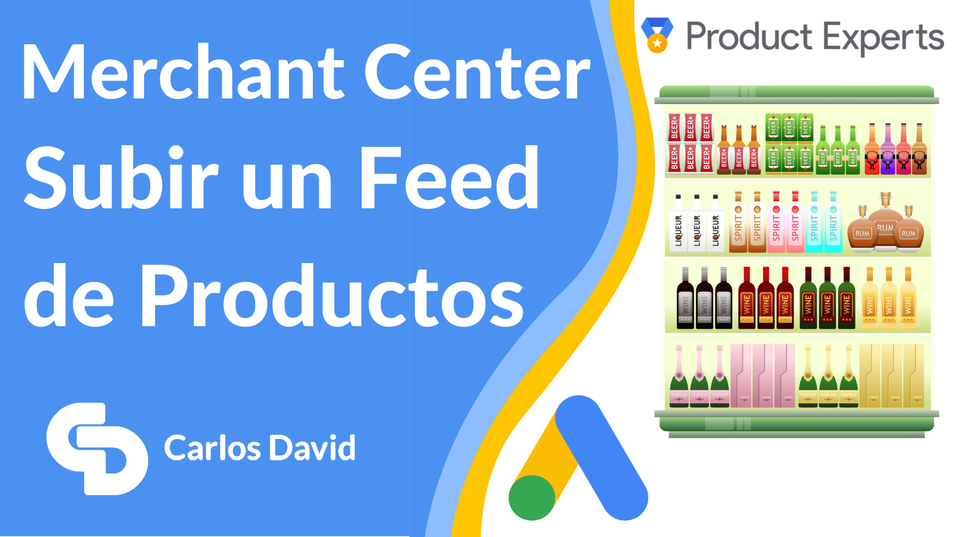 Subir feed Google Merchant Center