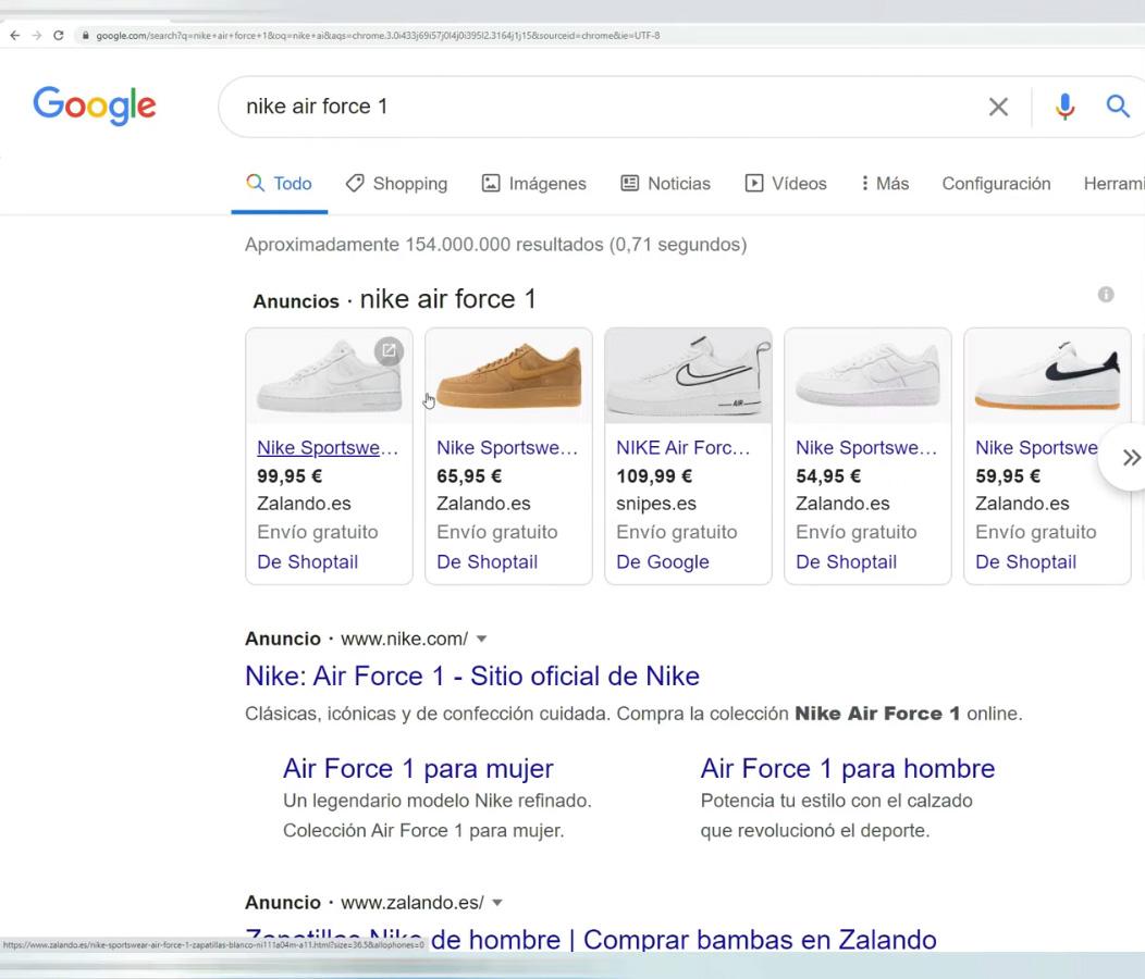 Qué es Google Shopping