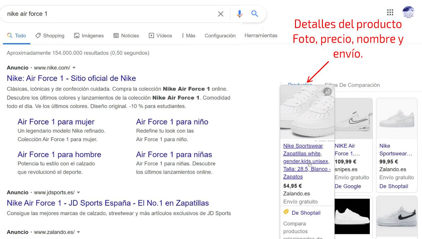 Principales ventajas de Google Shopping