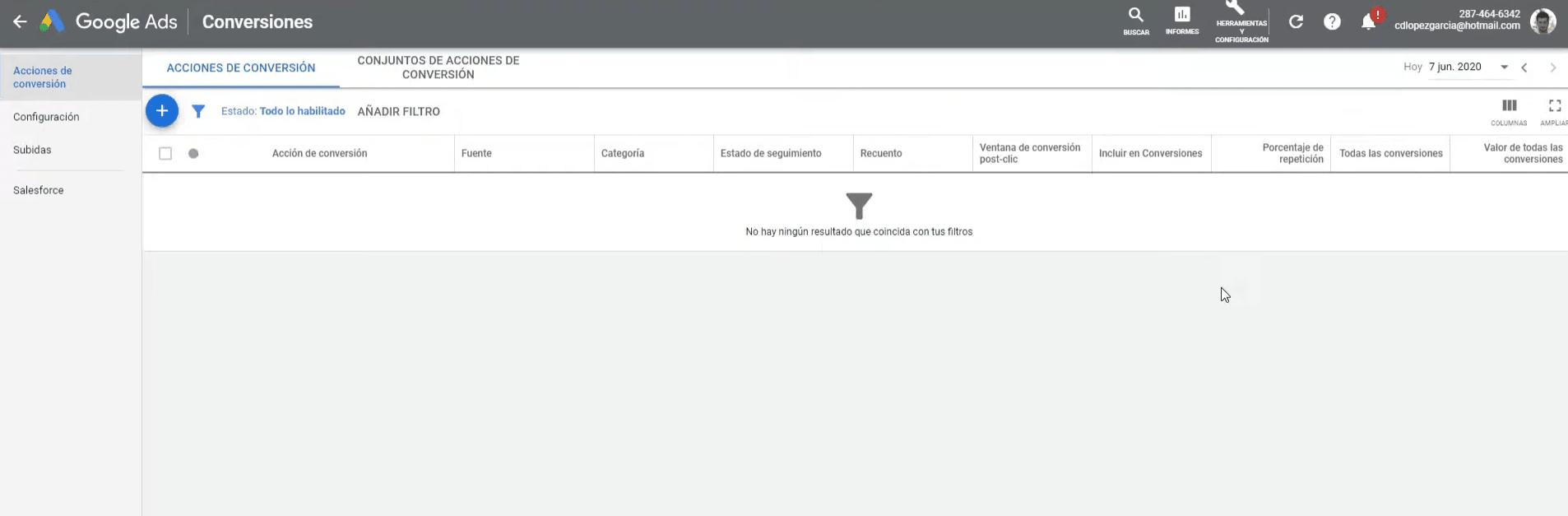 Entrar a Cuenta Google Ads