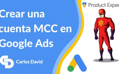 Crear una cuenta MCC Google Ads