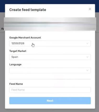 Feed de Shopify - Datos básicos de la creación del feed para merchant center