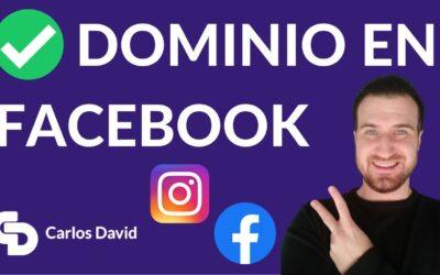 Cómo Verificar Dominio en Facebook EN 2 MINUTOS