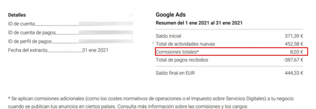 1factura google reino unido - La TASA GOOGLE Ads ha llegado 👉🏼Así vas a PAGARLA