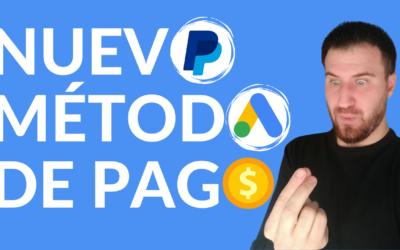 Configurar PayPal en Google Ads en 2 minutos