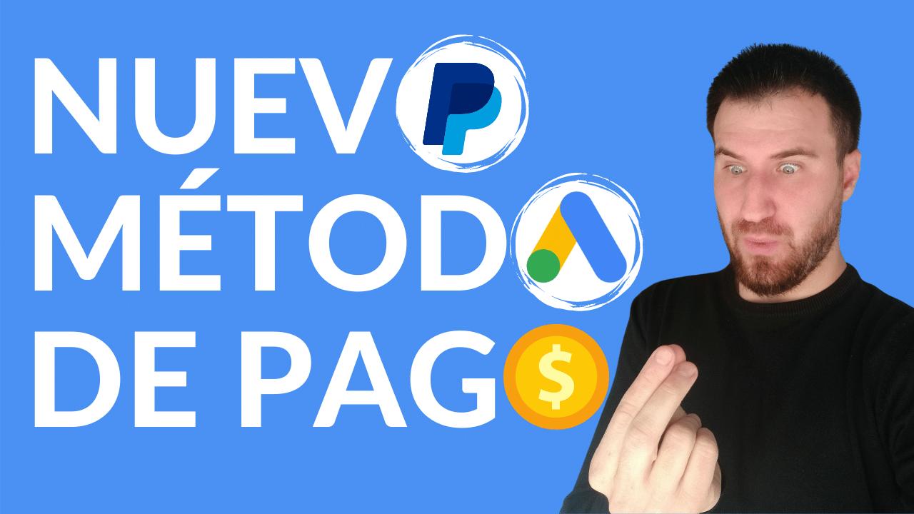 Configurar PayPal en Google Ads